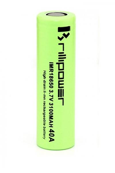 Аккумулятор 18650, Brillipower, 40A 2600 mAh