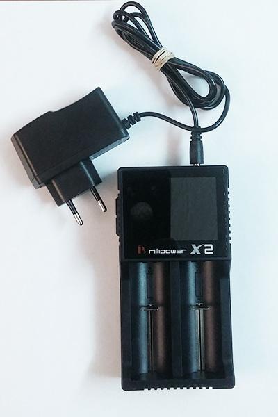 Зарядное устройство Brillipower X2 Led display